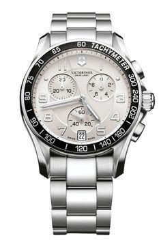 Victorinox Swiss Army® 'Chrono Classic' Bracelet Watch