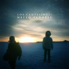 fav into 2012 ... Hello Sadness is the fourth studio album by British indie pop band Los Campesinos!. It was recorded during summer 2011 in a small studio near Figueres, Spain, and was produced by John Goodmanson.