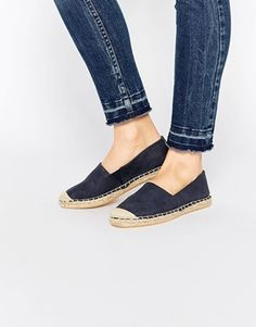 New Look Contrast Stitch Espadrille