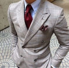 Personally love this one but double breasted doesn't work for everyone. Very sharp but grey may be more of a city suit
