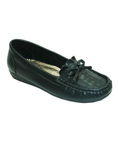 Black Bow Loafer