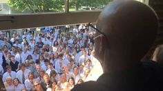 400 Students Sing To Teacher Battling Cancer