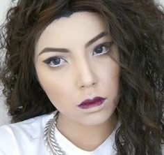 This is the most incredible Lorde makeup tutorial I have seen. This girl is extremely talented at makeup application!