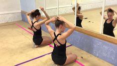 How to do your OWN bun for rhythmic gymnastics training