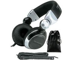 Amazon.com: Panasonic Technics RP-DJ1200A Foldable DJ Headphones with Swing Arm System and Coil Cord: Electronics