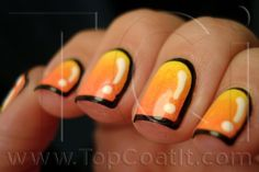 Top Coat It, 5/13/13: Cartoon Gradient Nails