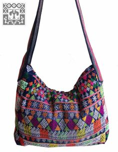 Vintage Hmong Fabric Yao Trouser handmade Ethnic textile shoulder bag  HBm2013-23 Boho Bags, 3edf2c14a3