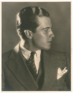 Ramon Novarro, portrait by Ruth Harriet Louise