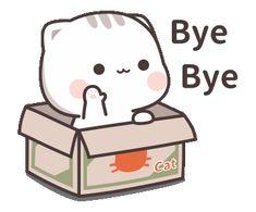 LINE Stickers Cutie Cat-Chan Jimao,Cutie Cat-Chan is coming again ! Cute Bear Drawings, Cute Cartoon Drawings, Cute Kawaii Drawings, Cute Love Memes, Cute Love Gif, Cute Love Cartoons, Cute Cartoon Pictures, Cute Love Pictures, Cartoon Pics
