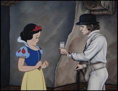 O terrível encontro entre personagens da Disney e vilões de filmes de terror