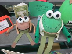 Sunny Days in Second Grade: Storybook Pumpkins (Frog and Toad)