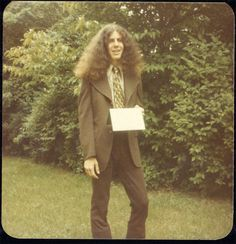 Anthony Bourdain in the 70's