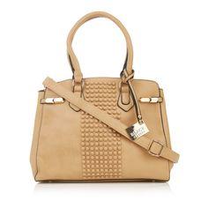 Studded Handbag Neutral