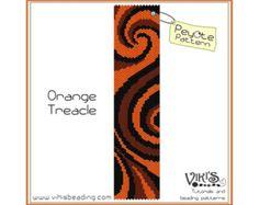 Peyote Bracelet Pattern: I Love Magic PDF por VikisBeadingPatterns