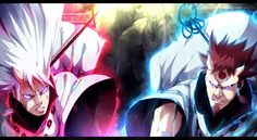 Naruto chapter 690 - Hamura and Hagoromo COLLAB by Kortrex on @DeviantArt