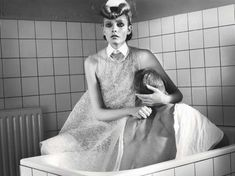 Stylish Nurse Shoots - The Nimue Smit W Korea Editorial Prescribes Retro Fashion (GALLERY)