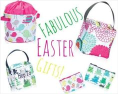 Thirty one gifts are a great alternative to easter baskets this 2015.  Think out of the basket.  Shop now, www.mythirtyone.com/mamaura   Join my FB. group,a place for my Customers and new future Customers!  An please, NO Thirty-one Consultants!!!!  Thank you  https://www.facebook.com/groups/251860528324566/