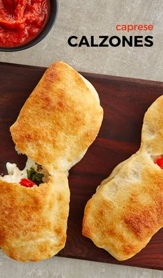 With just 5 ingredients and less than 10 minutes of prep, you'll be devouring these calzones in no time! You'll love the flavor of the oozing cheese, fresh tomatoes and basil with the soft and chewy texture of the pizza dough. Dip the calzones into your favorite pizza sauce and you have a quick and yummy meal!