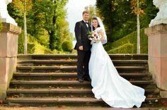 Klassisches Brautpaar-Bild