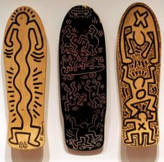 Keith Haring Skateboard decks