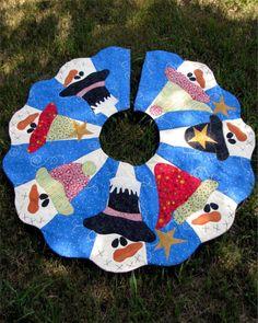 Primitive Folk art Quilt Pattern  Friends All by PrimitiveQuilting, $8.50