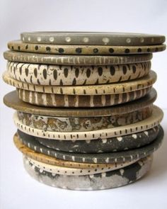 Julie Mellor bangle stack