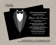 25 best fundraiser and charity fundraising invitations and flyers