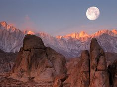 Moon Over the Sierra Nevadas, California.jpg