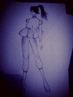 Turtle blouse... sketch more...