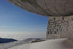 The Buzludzha Monument (Buzludja) Mount Buzludzha - Bulgaria.