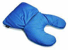 Samsonite Magic 2 In 1 Pillow, Blue Polka Dot, One Size
