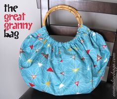 Free Purse Tutorial: The Great Granny Bag - Emmaline Bags: Sewing Patterns and Purse Supplies