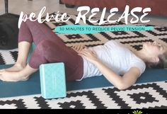 New Pelvic Release Stretches is part of fitness - New video! Pelvic release stretches to relax your hips, back, and pelvic floor Enjoy this FREE full length minute) video Suitable for women and men! Hip Flexor Pain, Tight Hip Flexors, Hip Pain, Back Pain, Psoas Muscle, Muscle Pain, K Tape, Psoas Release, Stretch Routine