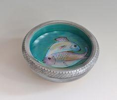 small bowl of fish