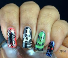 My Halloween Nails - preciouspearlmakeup