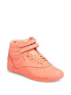Reebok Women s Freestyle Hi-Top Sneakers d94c7fb74
