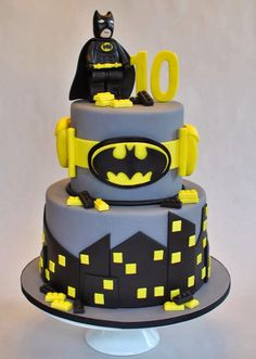 Lego Batman Cake, Hope's Sweet Cakes