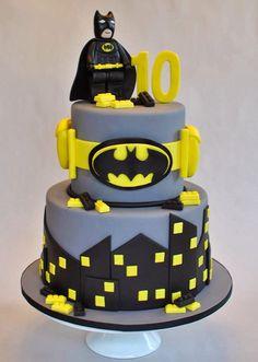 Lego Batman Cake, Hope's Sweet Cakes