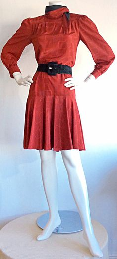 Vintage Pierre Cardin Dress / Space Age Mod by brentedwardvintage