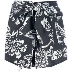 ISABEL MARANT Printed Short ($464) ❤ liked on Polyvore