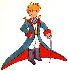 Le petit prince. Oui, c'est un dessin de le livre. Mais, j'aime le petit prince car j'ai lit en anglais quand j'etais jeune, et je me souviens ce dessin
