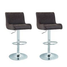 Asense Contemporary Cozy Adjustable Bar Counter Stools, Set of TWO, 360 degree rotation (Dark Brown) For Sale Bar Counter, Counter Stools, Extra Tall Bar Stools, Bar Stools For Sale, Luxury Home Furniture, Modern Bar Stools, Swivel Bar Stools, Dark Brown, Cozy