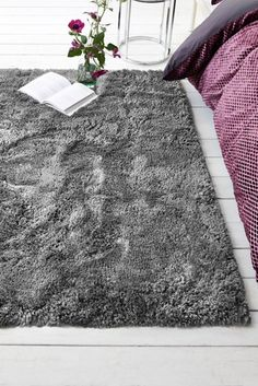 Buy Huggle Extra Soft Shaggy Rug from the Next UK online shop Silver Living Room, Rugs In Living Room, Sisal Carpet, Rugs On Carpet, Carpet Shops, Big Rugs, Carpet Installation, Types Of Carpet, Commercial Flooring