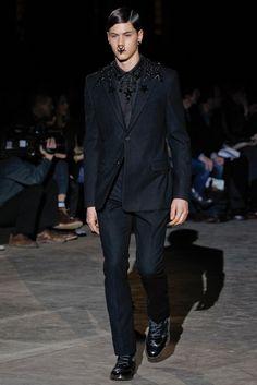Givenchy - Fall 2012 Menswear - Look 47 of 47