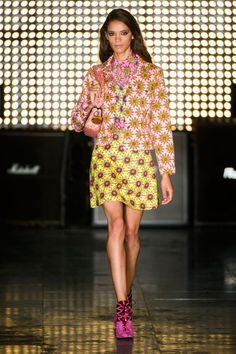 Pin for Later: Everything Is Groovy at House of Holland For Spring 2015 House of Holland Spring 2015