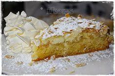 Apfelkuchen mit Mandelkruste - Kochen....meine Leidenschaft