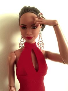 https://flic.kr/p/GSP9gA | Vanessa Gordon (Misty Copeland Barbie) | I know I said I wasn't getting this doll, but once I saw irl pics I was won over. I still say this doll looks nothing like Misty Copeland, but that's just me. Misty looks like such a sweet person, but Vanessa here looks like a total vixen, not that that's a bad thing lol! This is my first doll with a ballet body, so I was surprised to see that she basically has a pivotal model muse body with slightly wider hips. Also, her…