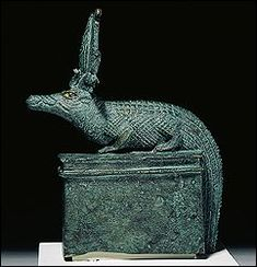 Sobek in crocodile form  Sobek was connected with the Nile, and protected the king. Live crocodiles were kept in pools at temples built to honour Sobek.