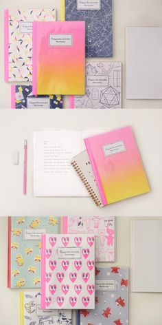 I feel happy whenever I see the colorful and pretty Happy Moment Notebook! It allows me to draw, write and scrapbook with the alternating grid and lined note pages. Thanks to the PVC cover, my lovely notebook is protected at all times!