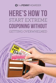 Ready to start saving big on your grocery bill? This family of four only spends $300 a month on fresh, nutritious, often organic groceries -- and we got their best tips on how to start extreme couponing. - The Penny Hoarder /thepennyhoarder/